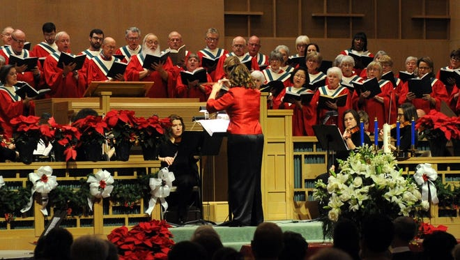 "First Presbyterian Church performs Handel's ""Messiah"" in 2015."