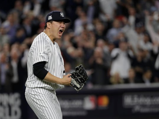Tanaka, Yankees top Keuchel, Astros 5-0 for 3-2 lead in ALCS
