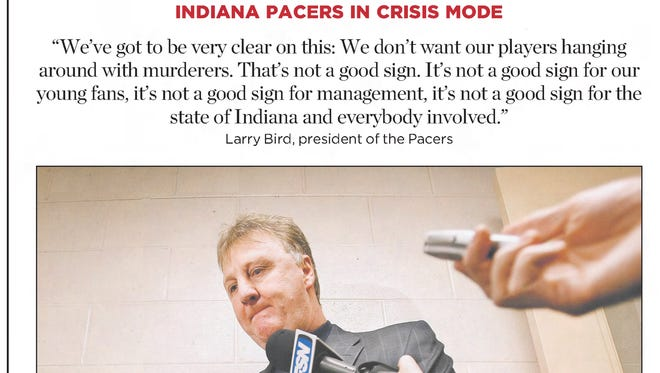 """The label says it all for the 2006-07 Pacers: """"Crisis mode."""""""
