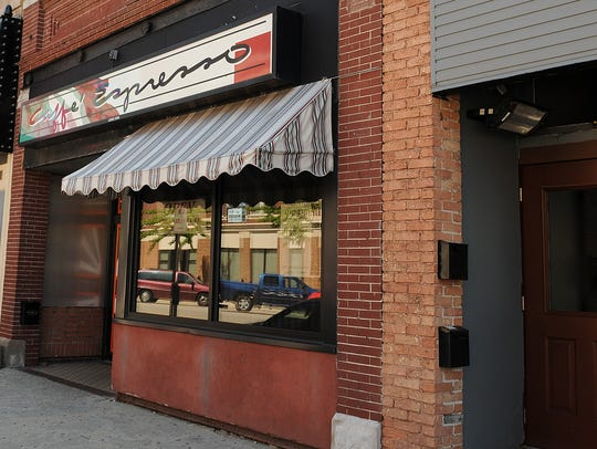 Caffee Espresso closed the downtown Green Bay location in 2015. It is now Vintage Cantina.