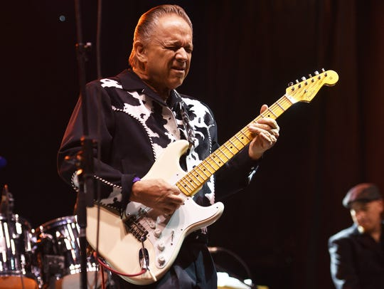 Jimmie Vaughan performs at Jazz Fest Friday, July 20,