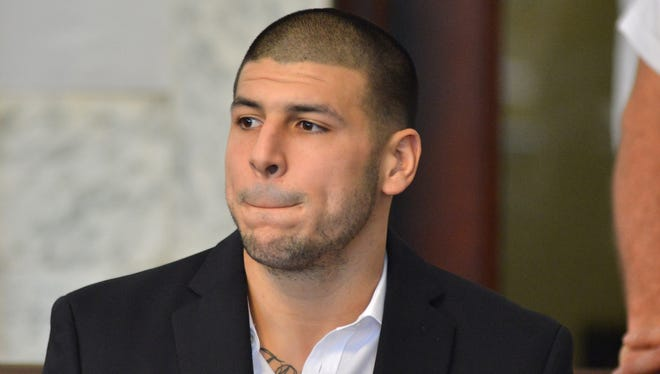 Former Patriots tight end Aaron Hernandez was indicted on first-degree murder and weapons charges Aug. 22.