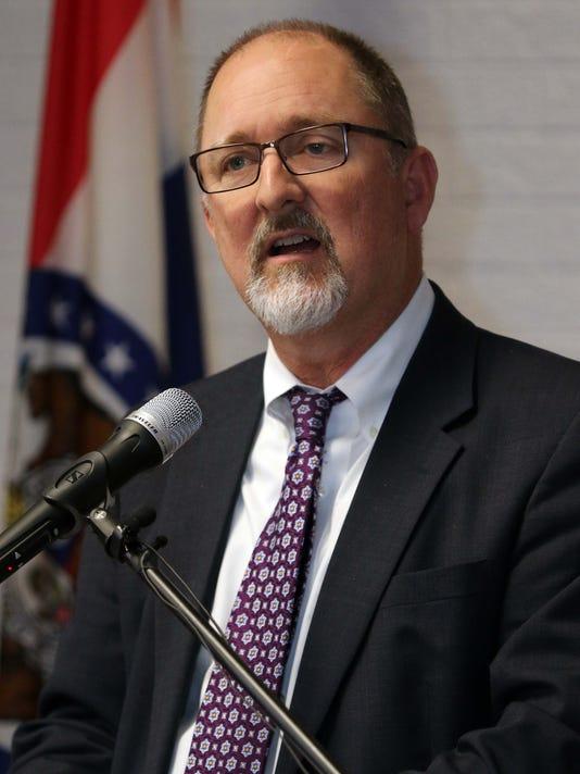 Springfield City Manager Greg Burris