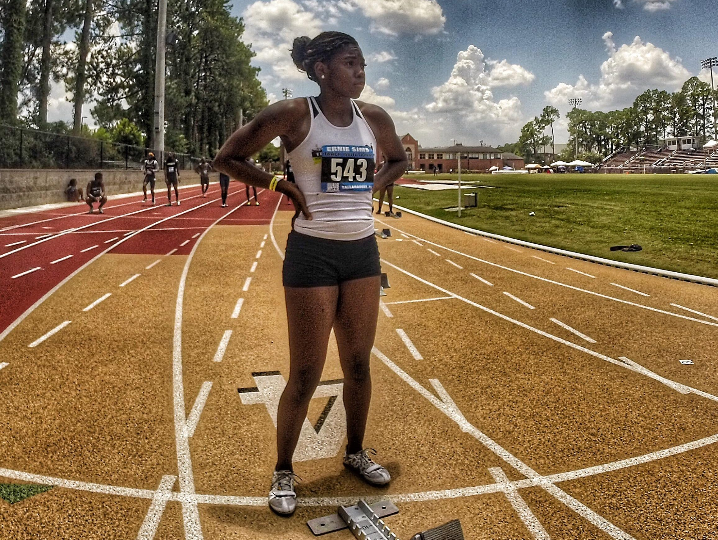 Lincoln grad Jadzia Beasley was a two-time state champion her junior season. Beasley has been priming for her future sprint career at Western Kentucky by running with track club North Florida Speed.