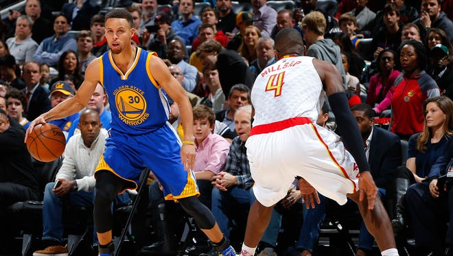 Barring an injury, Stephen Curry has seemingly locked up the MVP.
