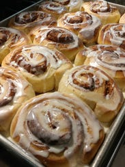 You can almost smell them! Warm, iced Cloud 9 Cinnamon