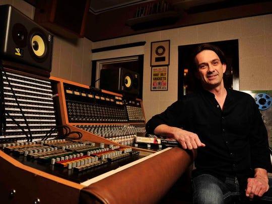 Sixteen Ton Studio owner Danny White