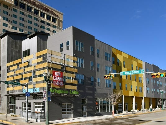 The Roderick Arte Lofts Is One Of Seven Apartment Buildings On April 7 Downtown Living Tour Organized By El Paso Management District