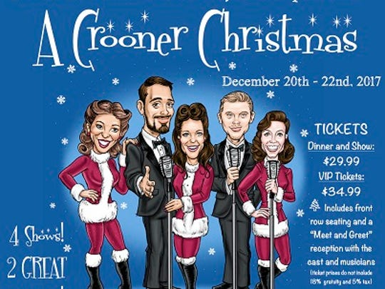 """A Crooner Christmas"""