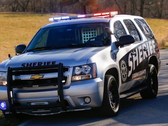 A Greene County Sheriff's Office vehicle.