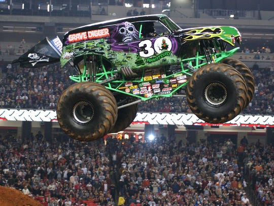 Fan favorite Grave Digger will again perform wheelies,