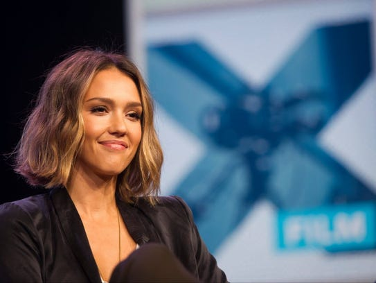 Actress Jessica Alba, founder of The Honest Co., during