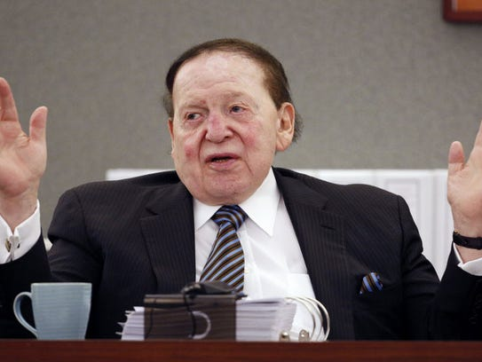 Sheldon Adelson, 82, remains in control of his Las