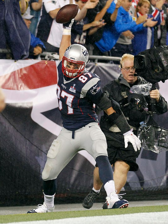 USP NFL: PITTSBURGH STEELERS AT NEW ENGLAND PATRIO S FBN USA MA