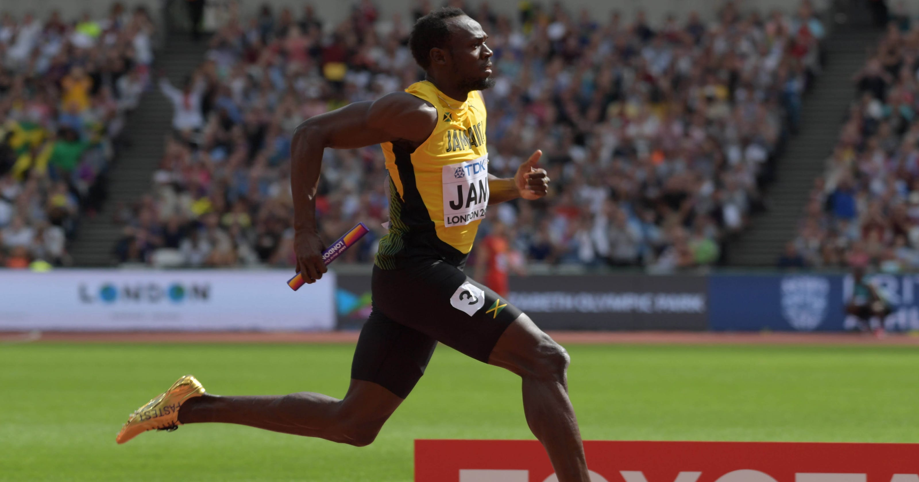 66fe532d4b7 Usain Bolt ends storied career with injury at world championships