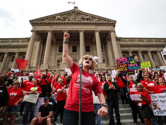 Teachers Rally Friday At State Capitol