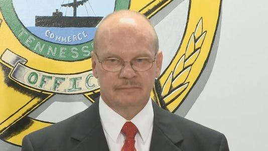 Hawkins County Sheriff Ronnie Lawson