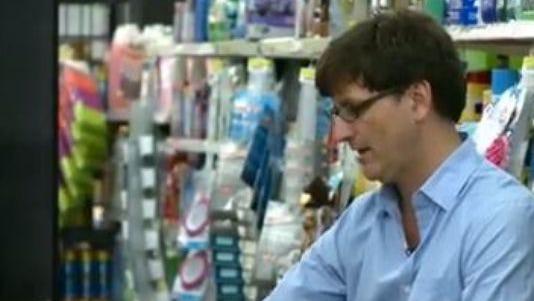Artist Brendan O'Connell finds inspiration in Walmart aisles