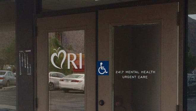 The new mental health urgent care center in Palm Springs opened Oct. 27, 2016