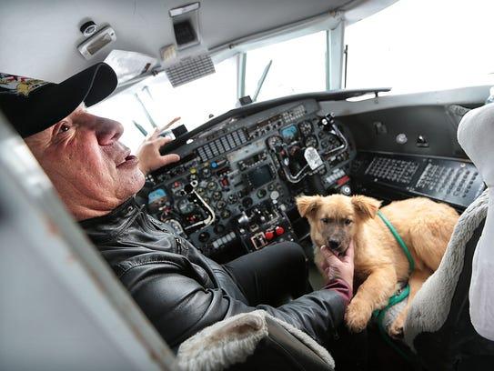 Wings of Rescue Founder Yehuda Netanel takes a break