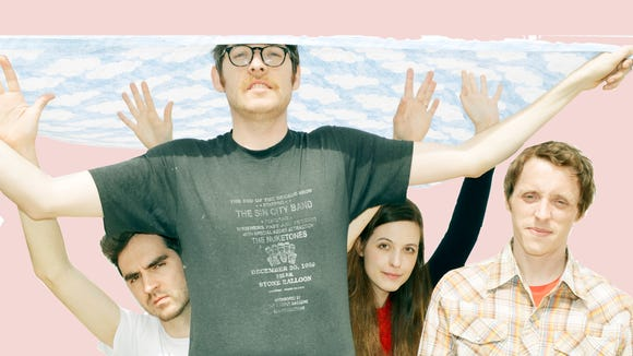 Wilmington band Teen Men, made up of current and former members of The Spinto Band, launch a North American tour next week to support the act's debut release.