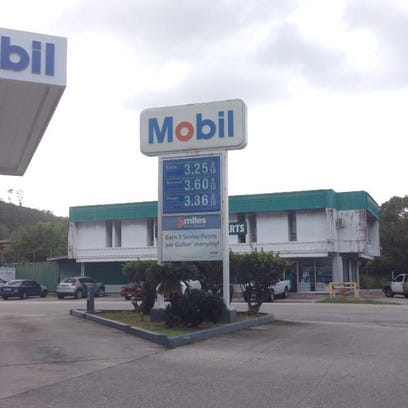 Mobil prices drop 10 cents