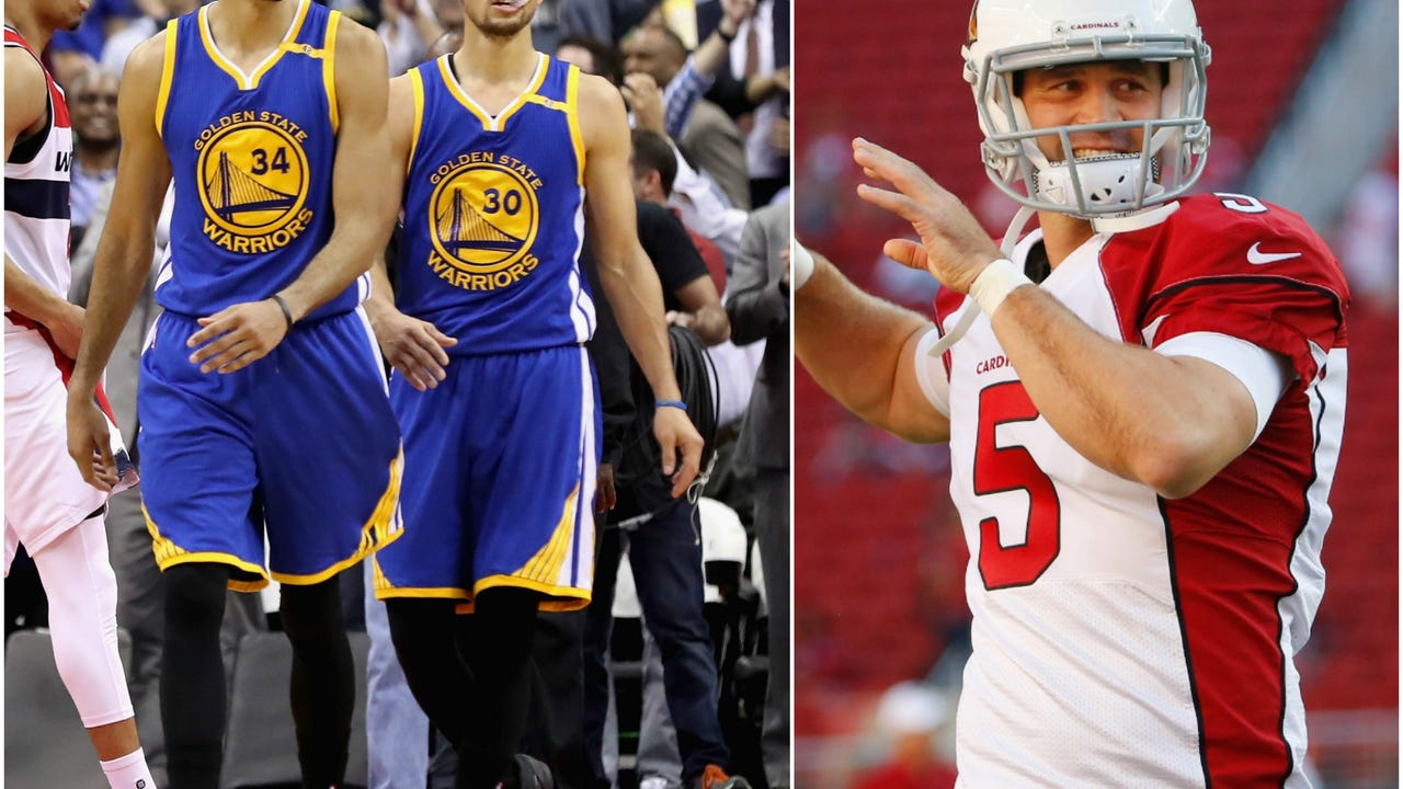 Dan Bickley and Jay Dieffenbach discuss the NBA playoffs and the Cardinals' quarterback situation, which seems to be a concern but they likely need to use the 13th pick on defense. Video: azcentral sports