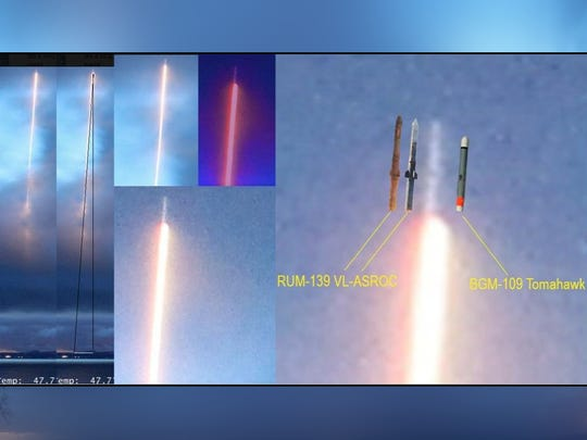An image posted in one forum analyzing the type of missile Greg Johnson's picture could show.