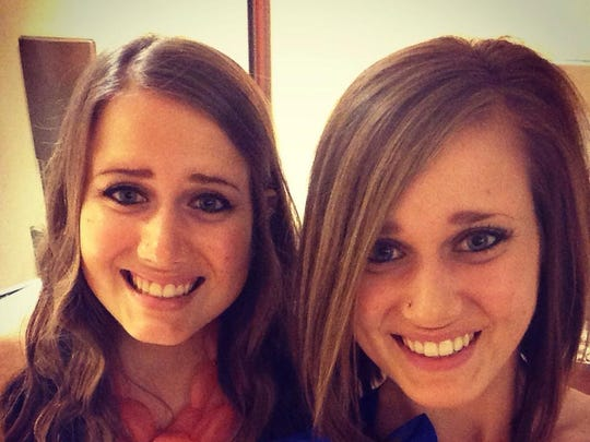 """Brittany and Christine Hudson """"have a real love for life and helping others,"""" says their nominator."""