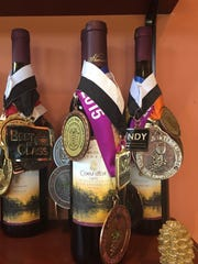 Sharrott Winery is the recipient of many awards for its wines.