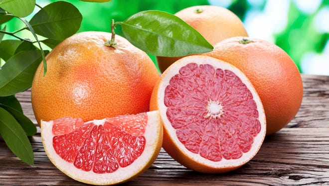 Florida produces about 50 percent of all grapefruit grown in the world and about 80 percent of grapefruit in the United States.