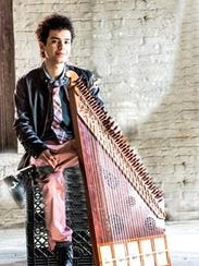 Ali Paris, a classical qanun player and vocalist, will