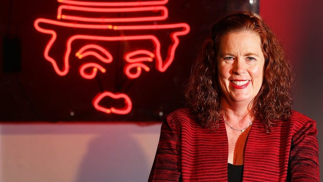 Crackers owner Ruth-Anne Herber-Bunting poses for a portrait at Crackers Downtown in 2016.