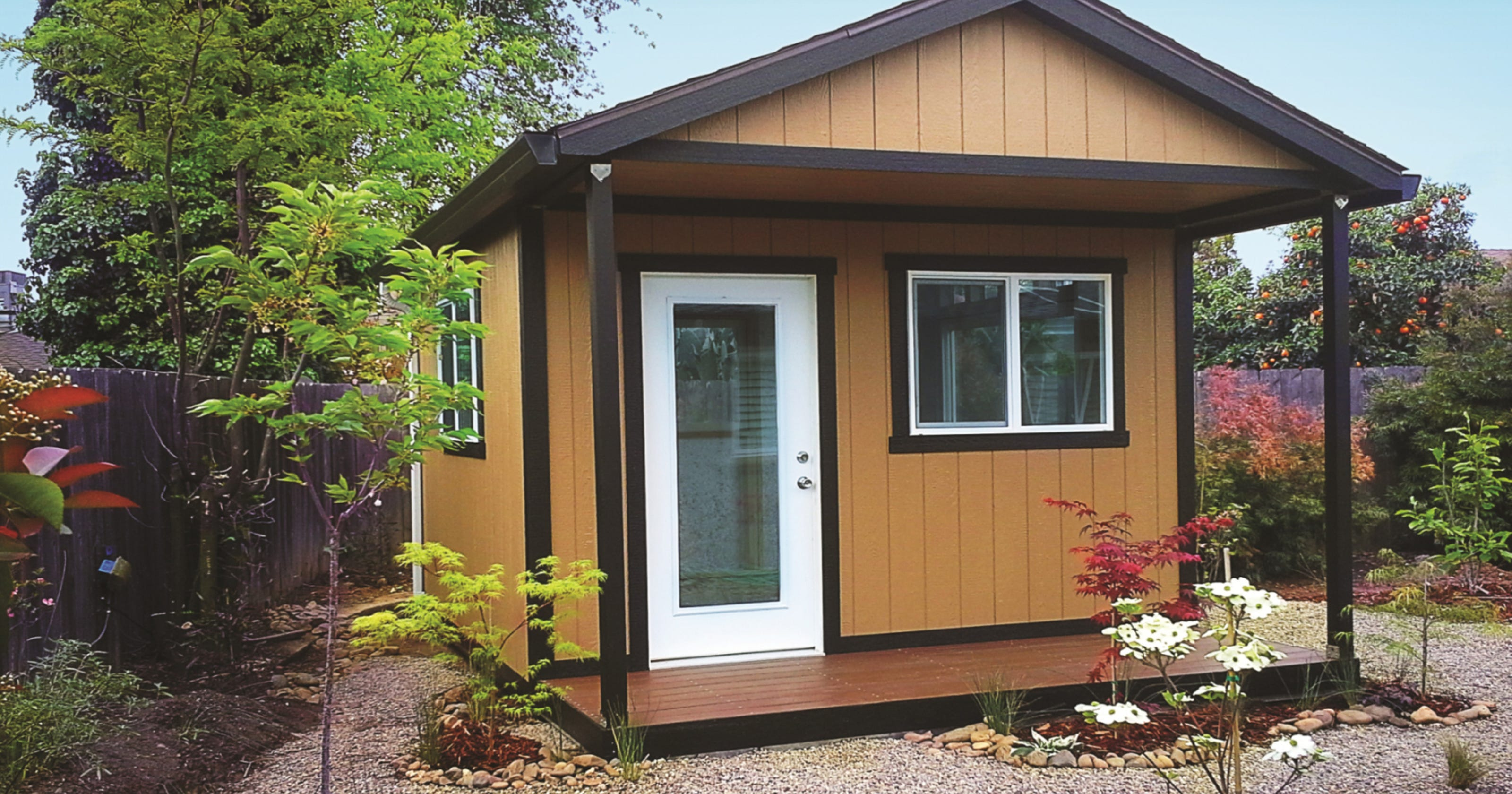Do you have room for backyard storage?