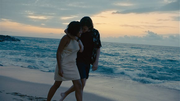 The couple takes a trip to Hawaii.