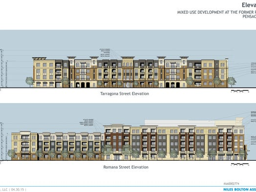 Studer apartments named southtowne for Architectural concepts pensacola florida