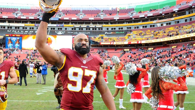 Former Grambling standout Jason Hatcher (97) was drafted in the 2006 NFL Draft. Grambling ended an 11-year drought over the weekend when wide receiver Chad Williams was drafted.