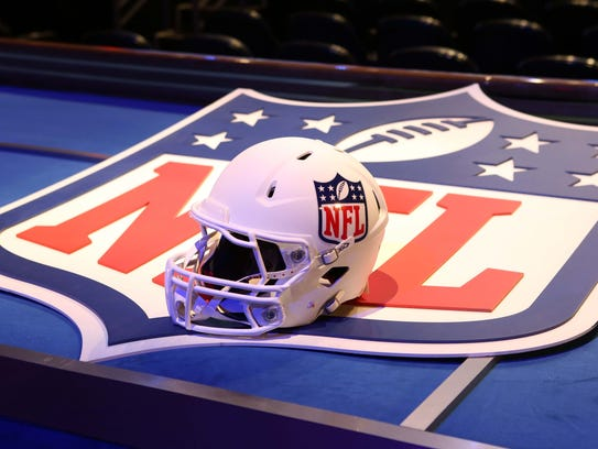 The NFL's famous shield.