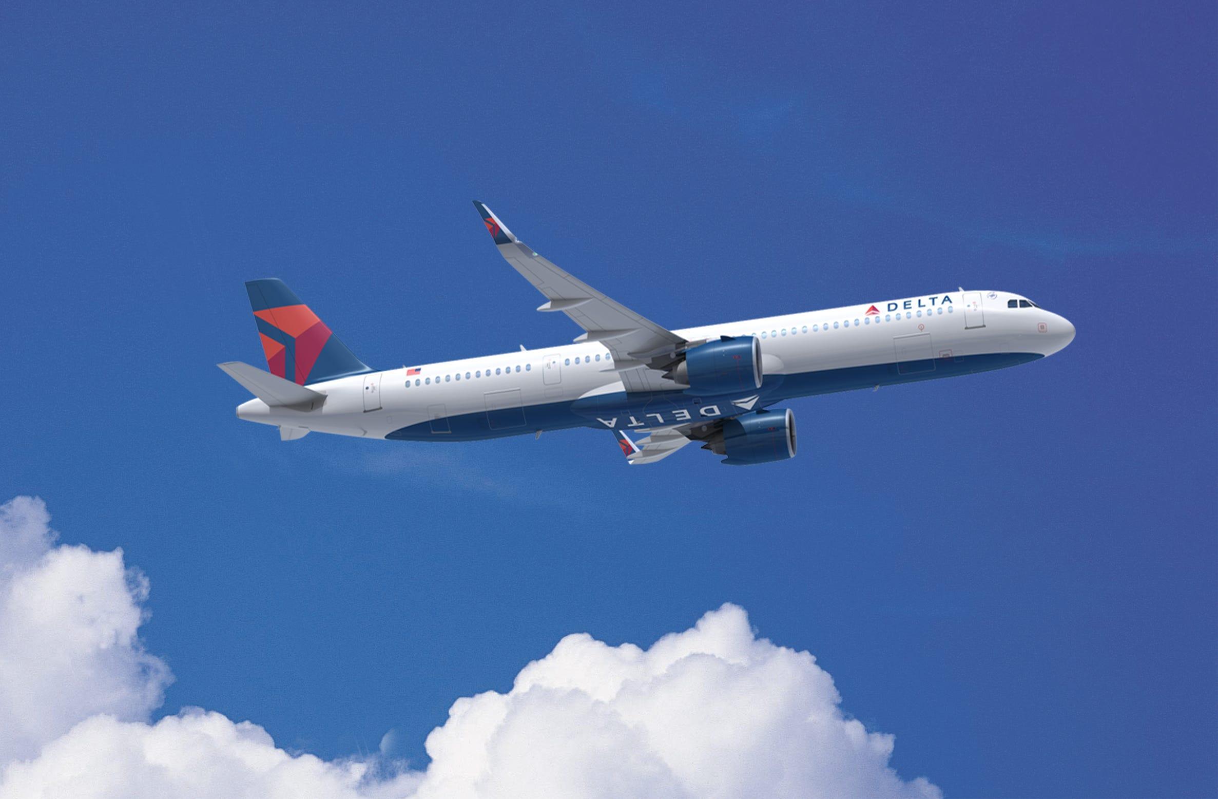 Delta picks Airbus over Boeing for huge 100-jet order