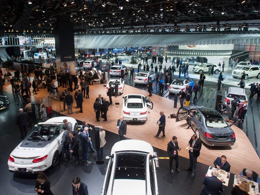 Auto Show Sports Cars Market Diversity Rules Stage