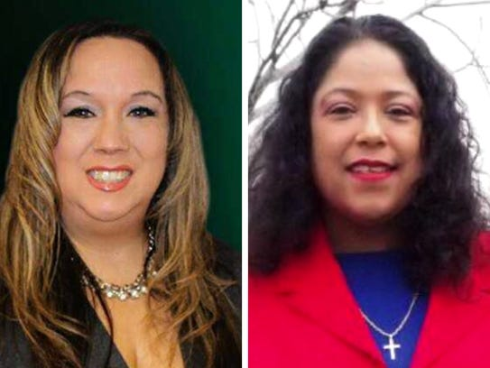 Supervisor Peggy West (left) and Sylvia Ortiz-Velez (right) are competing for Milwaukee County Board District 12 supervisor in the April 3 election.