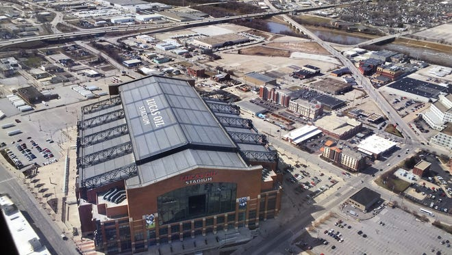 Lucas Oil Stadium will have its roof closed during Monday night's home opener for the Colts because of concerns about a bolt that fell during a preseason game, injuring three people.