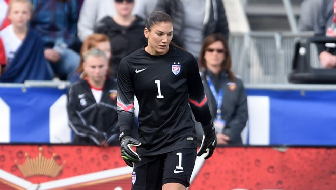 U.S. women's soccer goalie Hope Solo was arrested on suspicion of assaulting her sister and 17-year-old nephew.