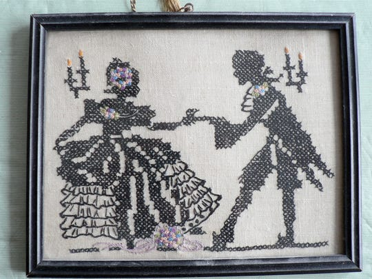 A sampler made for mother in grade school. How did I do it?