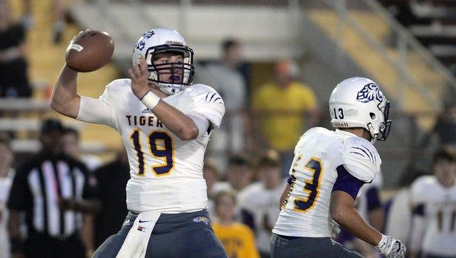 Benton quarterback Garrett Hable returns for his senior season.