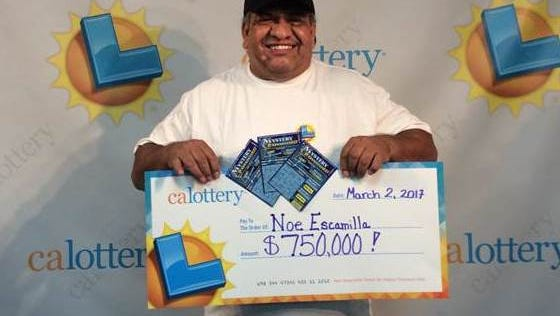 Noe Escamilla bought a $750,000 lottery ticket at Port Hueneme store.