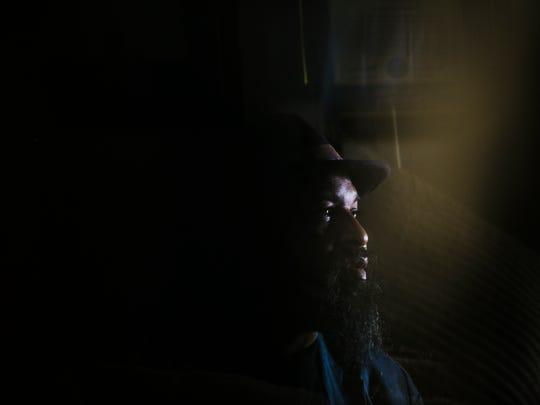 July 27, 2017 - Vencie Varnado, 54, sits in his Millington home as he discusses having his vehicle seized by police after his son was arrested on drug charges. The car was eventually returned after Varnado hired an attorney to fight to have his property returned. With Attorney General Jeff Session's directive on assets seized by police, citizens like Varnado may find it harder to get property returned.