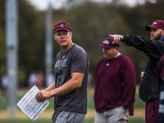 November 1, 2017 - Tommy Miller, interim coach for