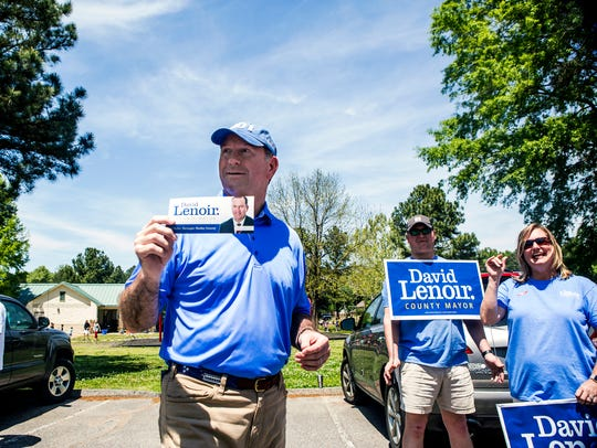 Shelby County Trustee David Lenoir is the Republican Party's nominee for Shelby County mayor.
