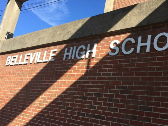 Belleville H.S. stock photo